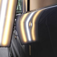 wagonR dented rear door
