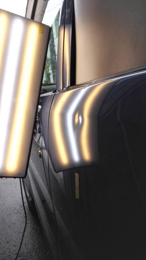 wagonR dented rear door