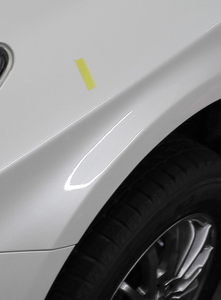Repaired front-fender 2