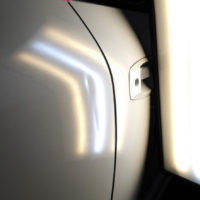 crease dented door of STAGEA