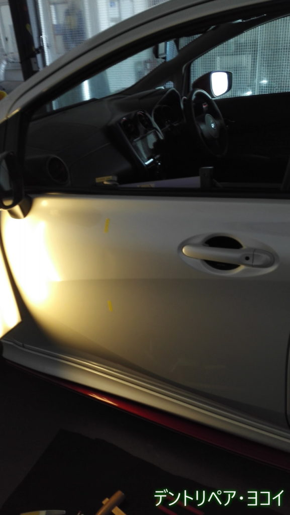 dented NISSAN_NOTE
